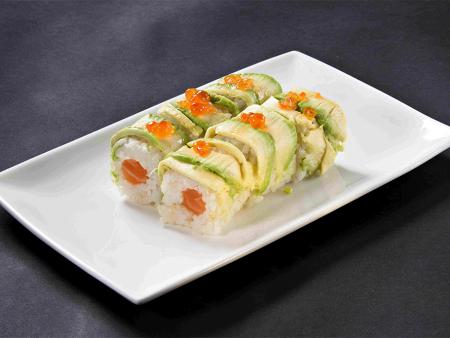 MF8 Avocado saumon chesse et oeuf de saumon